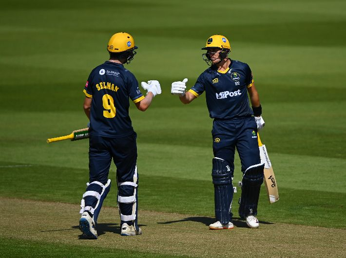 It was great to get a century partnership with Marnus - Selman