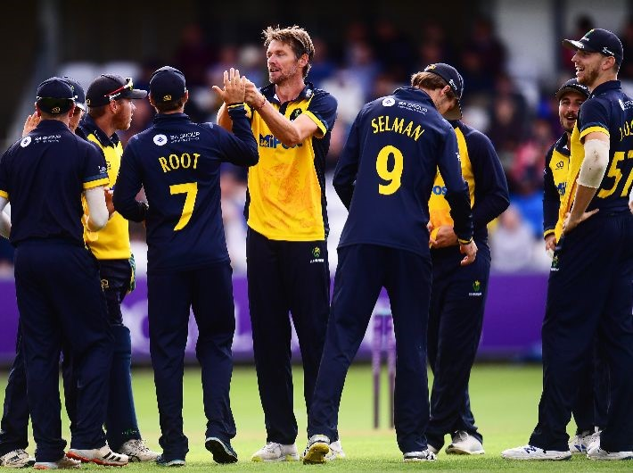One change to squad for Derbyshire clash