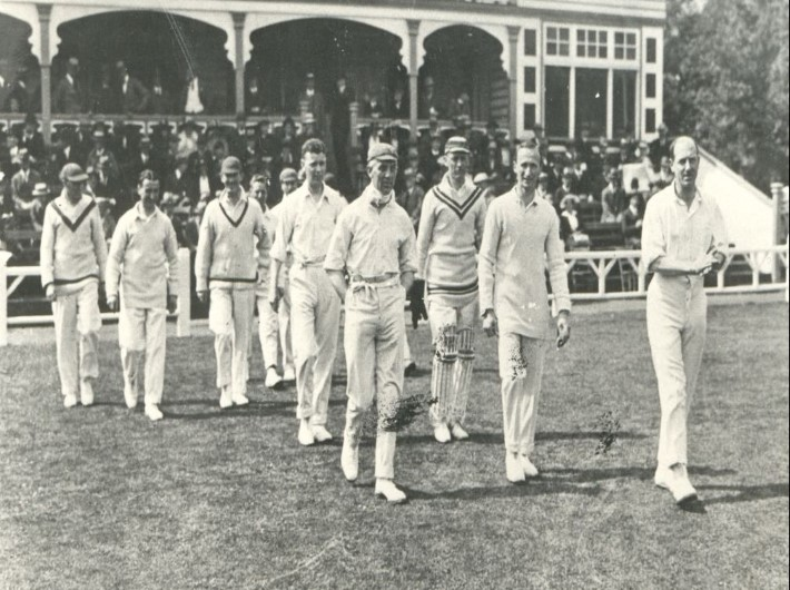 The day Glamorgan CCC were elevated to first-class status