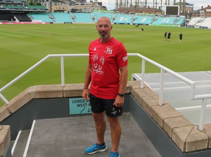 Maynard looks forward to Wellyman Walking