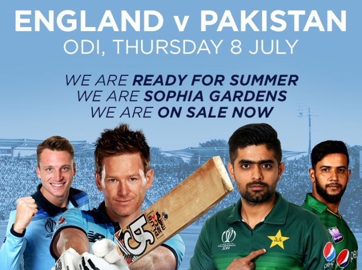 England v Pakistan ODI on general sale now!