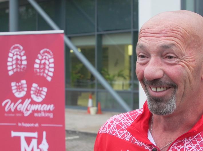 Maynard sets off on Wellyman challenge