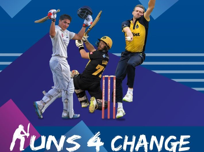 GLAMORGAN PLAYERS GET BEHIND LORD'S TAVERNERS RUNS AND WICKETS FOR CHANGE CAMPAIGN FOR 2021
