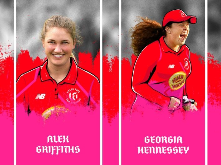 Four new domestic players join the Welsh Fire women's team
